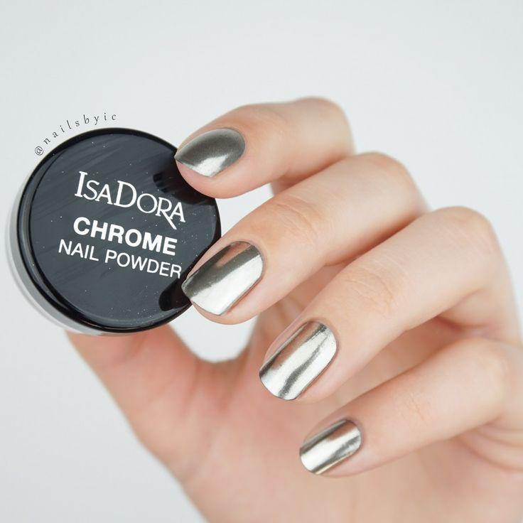 Create Chrome Nails At Home Using Regular Nail Polish