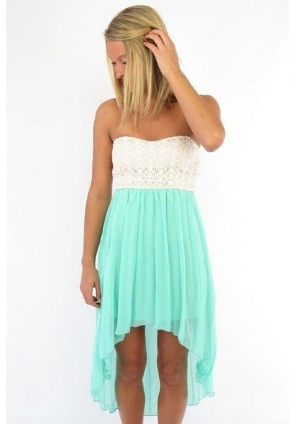 Chloe- An all time Pinterest favorite- our Chloe Mint dress is back