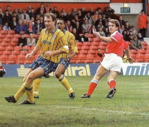 2 October 1993 Middlesbrough away 2:2 John Frain BCFC, John Hendrie