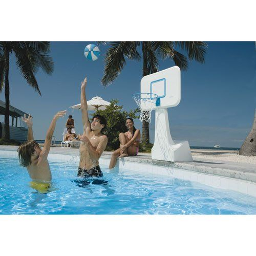 22 best images about pool basketball on pinterest pools - Swimming pool basketball hoop costco ...