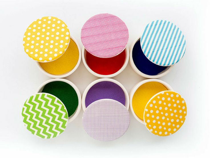 DIY Modern Washi Tape Jewelry Box