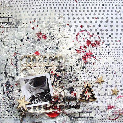 HANDMADE by Ki: 10/2016 scrap/LO {our love}
