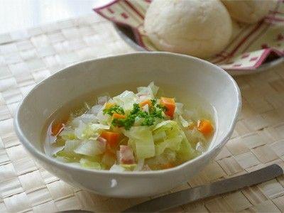 アレンジ自在なシンプル野菜スープ