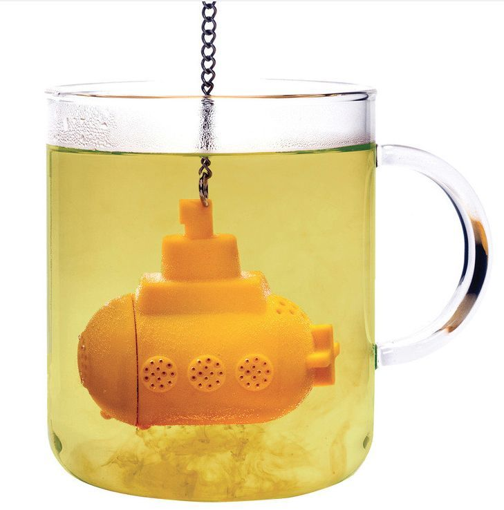 »I'd drink tea all day if I had this! Submarine Tea Infuser« #forthehome #forthekitchen
