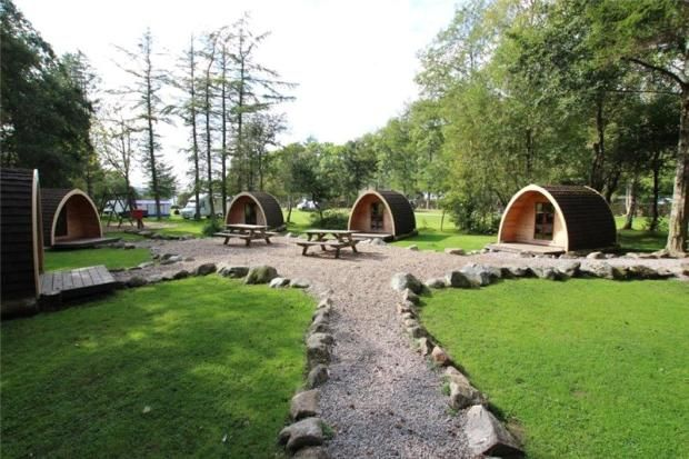 Camping Pods. Lake District - Business for Sale