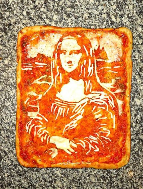 Mmmmm. Art.  These Pizzas Are Real Works Of Art #IncredibleThings