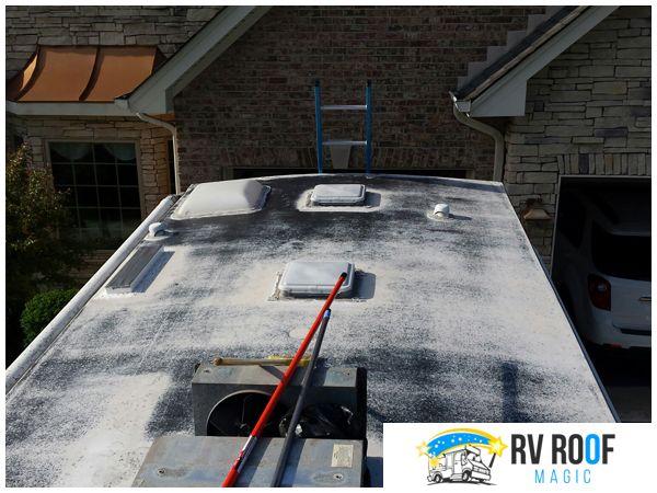 New Study Looks At The Life Span Of Rv Roof Coatings In 2020 Roof Leak Repair Recreational Vehicles Leak Repair