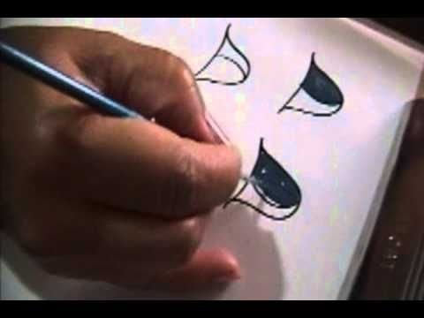 Seminario para pintar Ojos - Parte 9/16   Complete course how to paint eyes includes exercises. In Spanish but easy to follow