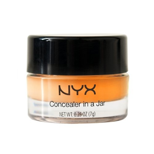 NYX Cosmetics Concealer Jar, Orange, 0.21 Oz.