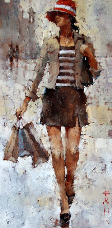 *The City Gal, Sorrento* ~ by Andre Kohn ♡♥