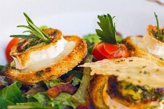 Terroir de Touraine - Mangez local et de saison - Les recettes - Croutons de Sainte Maure de Touraine