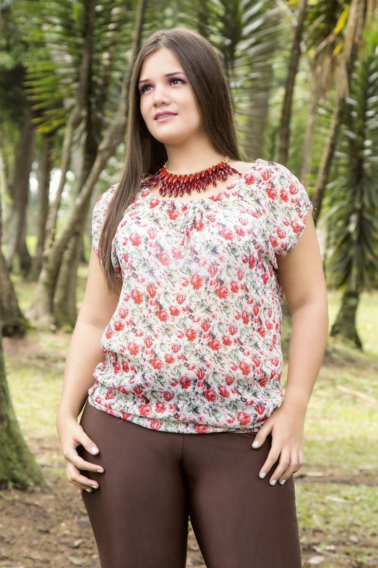 Blusa mini print la puedes comprar  en NDAS Moda.