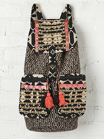 Free People Ventura Backpack by Stella 9 #boho #bohemian #handbags