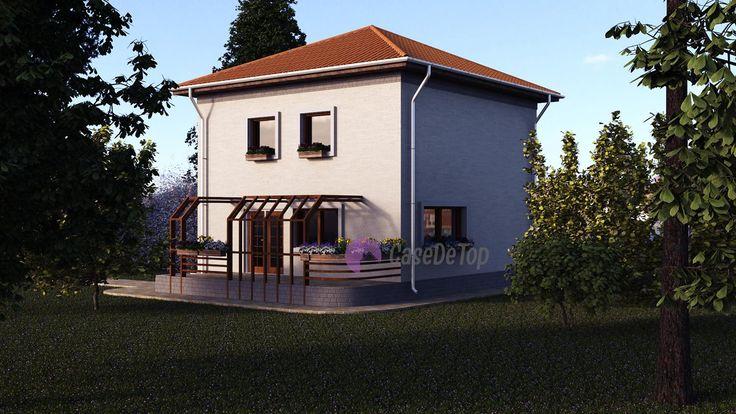 Cele mai bune 20 de idei despre case mici pe pinterest for Proiect casa clasica b 178 m