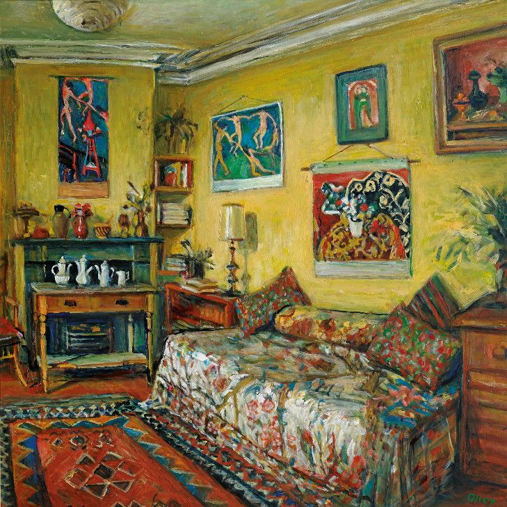 The Yellow Room, by Margaret Olley (her own room in Paddington Terrace).