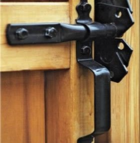 230 Best Gate Lock And Latch Design Images On Pinterest