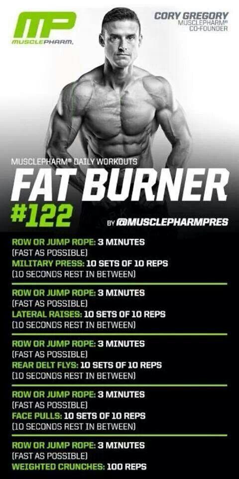 MusclePharm Fat Burner#122