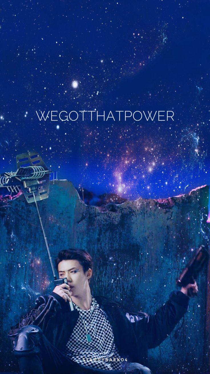 EXO REPACKAGED THE POWER OF MUSIC || WALLPAPER © to【starrybaek04】 #EXO #SEHUN #COMEBACK #THEWAR #POWEROFMUSIC #엑소