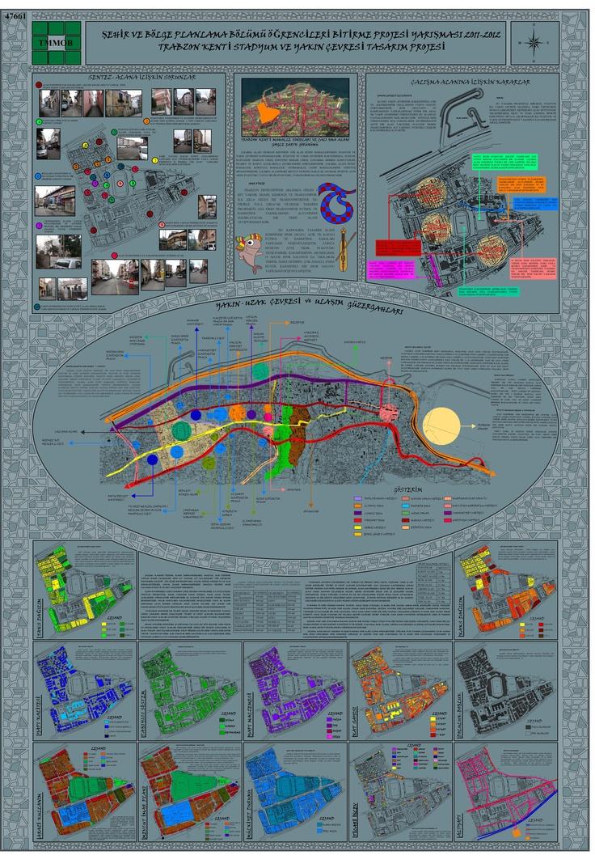 Şehir ve Bölge Planlama Bölümü Öğrencileri Bitirme Projesi Yarışması 2011- 2012 1 Nolu Pafta  [nadişin istediği renk]