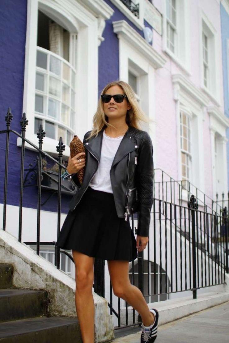 26 Looks Diferentes Que Puedes Lograr Con Una Chaqueta De Cuero | Cut & Paste – Blog de Moda