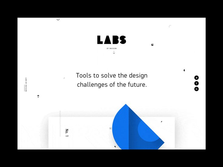 Interaction design in motion – Animations Web #1