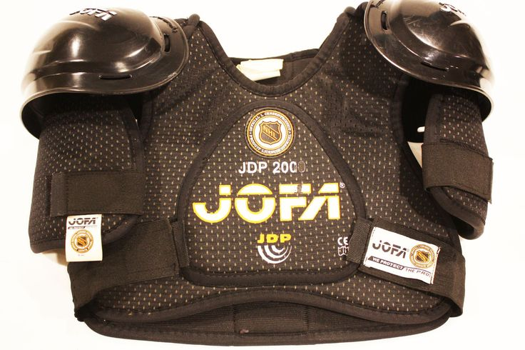 "Hockey Shoulder Pads JOFA (Junior Large 32 - 36"") Pre-Owned Guard Pad 12 inch"