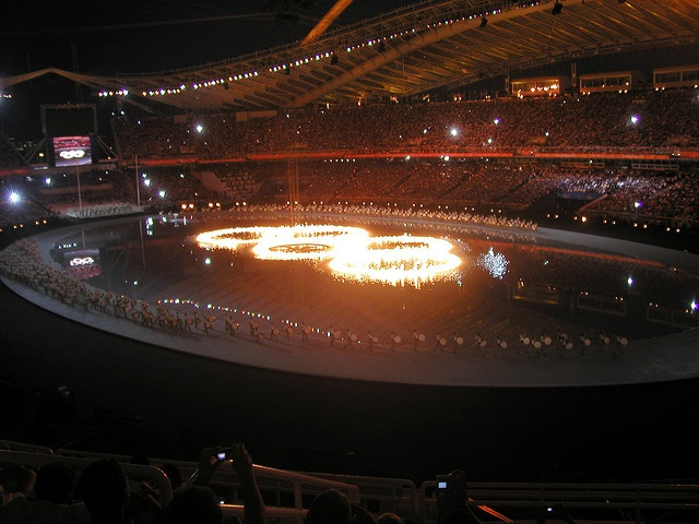 Olympic Games - Opening Ceremony,  Athens 2004 by dtsiabai, via Flickr