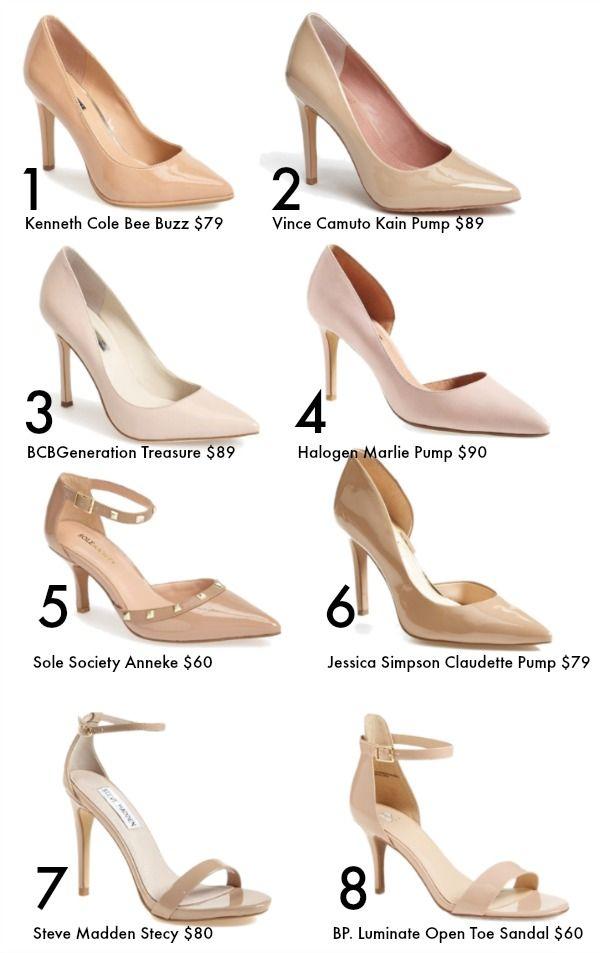 Nude heels Spring/Summer fashion | Weekend Steals &amp Deals