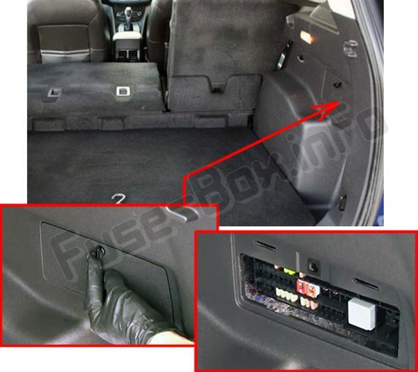 Ford Escape 2013 2019 Fuse Box Location Ford Escape Fuse Box Global Positioning System