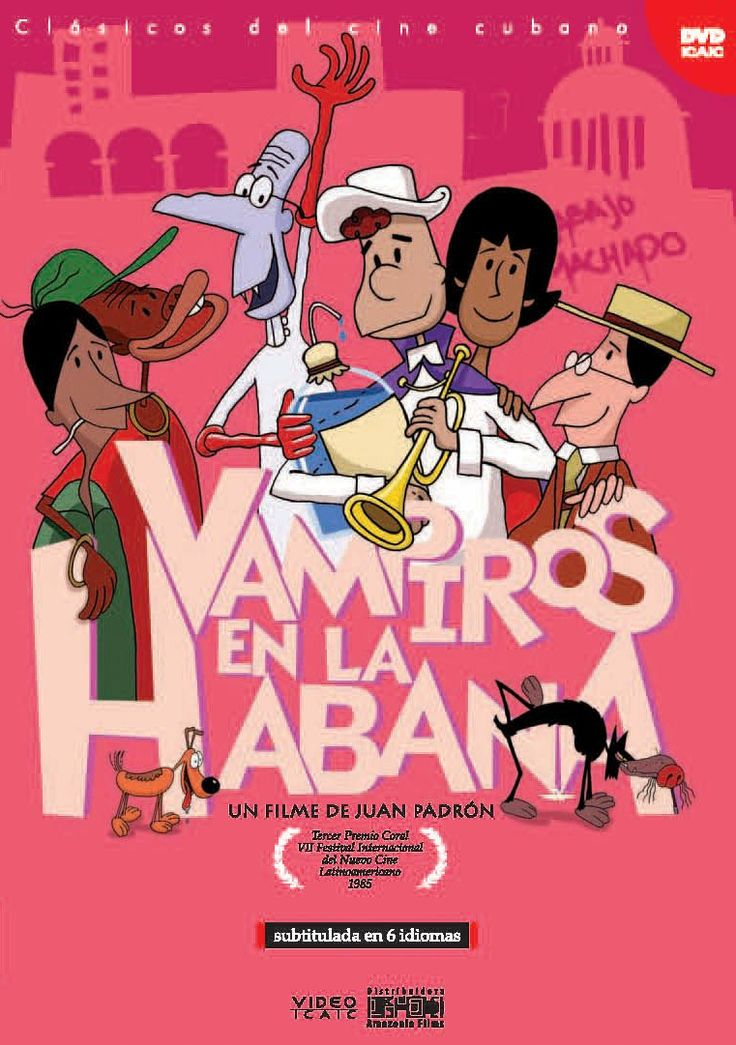 Vampiros en La Habana (1985), Juan Padrón.