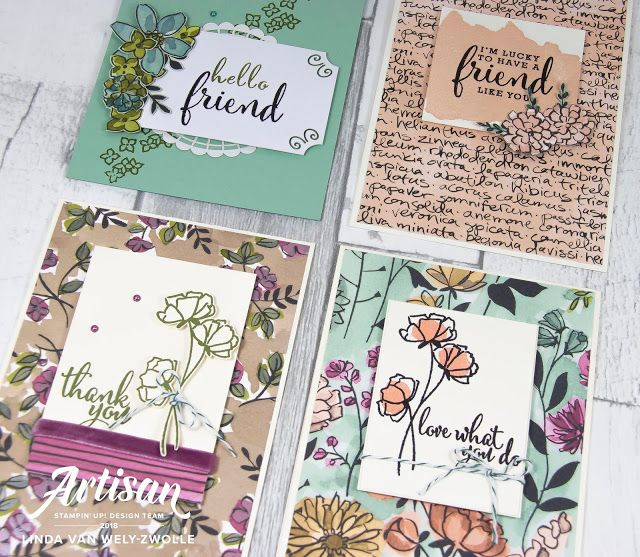Stampin with Liz Design: Share What You Love - Stampin' Up! Artisan Blog Hop