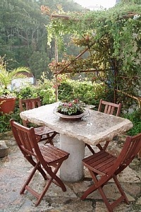 What to do with that leftover slab of granite from the remodel  Outdoor Seating/Dining Terrace
