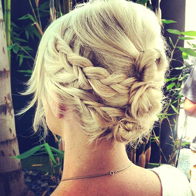 Up do for my mane Mandee & Derek's wedding??