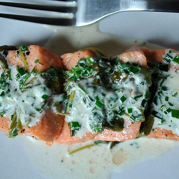 Salmon in Sorrel Sauce Recipe on Food52 recipe on Food52