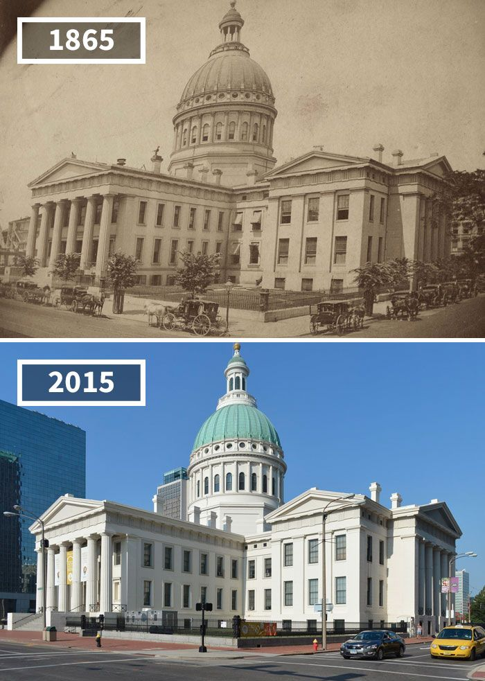 The Old St. Louis County Courthouse, St. Louis, Illinois, 1865 - 2015