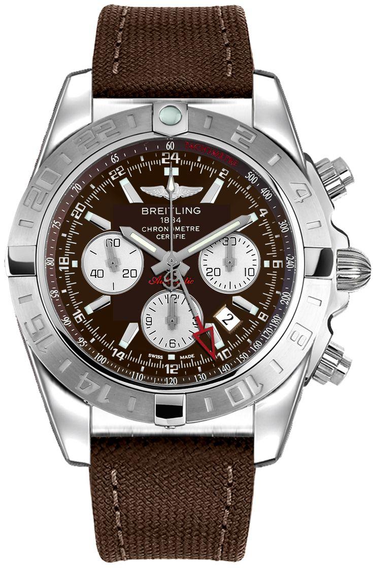 Breitling Chronomat 44 GMT AB042011/Q589-108W: AB042011 Q589 108W A20D.1 NEW BREITLING WINDRIDER CHRONOMAT GMT MEN'S WATCH FOR SALE IN…