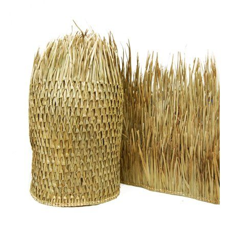 Free Shipping On Orders Over 35 Buy Mexican Thatch Runner 35 H X 96 L At Walmart Com Mexican Palm Tiki Hut Rolled Fencing