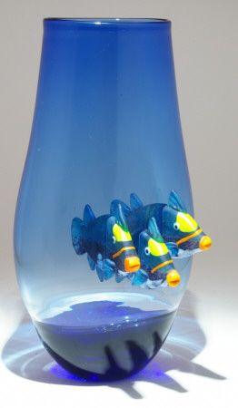 Art Glass Fish from Kela's...a glass gallery on Kauai