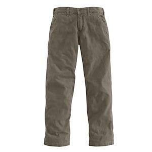 Carhartt Canvas Khaki Pants for Men - Mushroom - 40x30