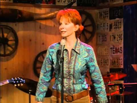 """So fitting...we loved watching """"Reba"""".  Especially with Van...fun crazy like our family."""