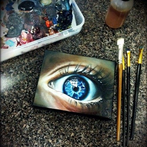 17 best images about eyes on pinterest eyes shatter me for Creative things to do with paint