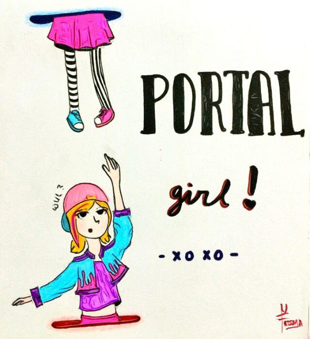 Portal girl!