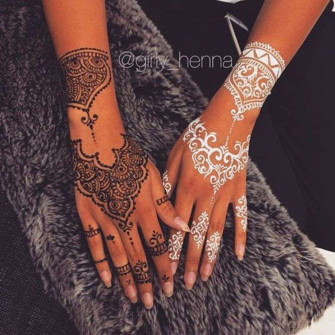 Tatuagem de henna: 24 desenhos para planejar seu próximo rabisco                                                                                                                                                                                 Mais
