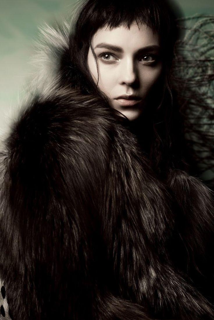 """Like A Painting"" Kati Nescher By Sølve Sundsbø For Vogue Italia November 2014"