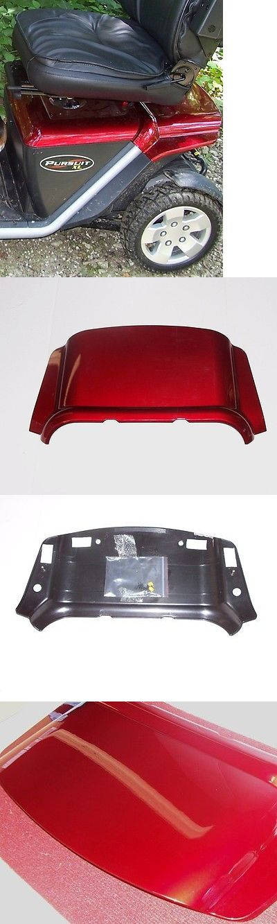 Mobility Scooter Parts: Mobility Scooter Pride Pursuit Xl Rear Shroud Only, Red Cover Accessories. New -> BUY IT NOW ONLY: $115.0 on eBay!