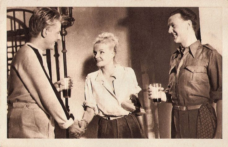 https://flic.kr/p/KDkWHi | Jean Desailly, Madeleine Sologne and Raymond Rouleau in Une grande fille toute simple (1948) | French postcard. This postcard was made for the exclusive release at the Madeleine cinema. Photo: Prod. CAPAC. Jean Desailly, Madeleine Sologne and Raymond Rouleau in Une grande fille toute simple/Just a Big Simple Girl (Jacques Manuel, 1948).  The sets were by Robert Gys.  French actor Jean Desailly (1920- 2008) was a member of the Comédie-Française from 1942 to 1946…
