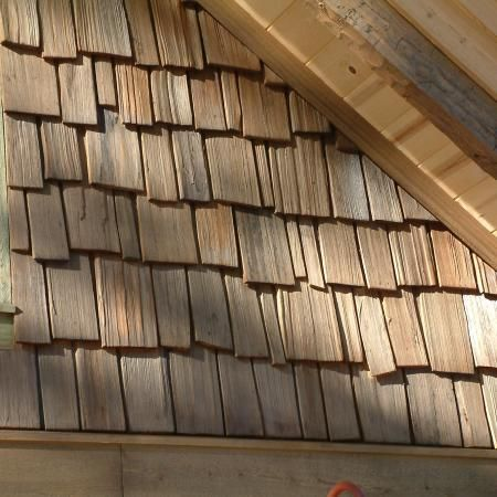 Rustic Cedar Shake Siding Someday I M Tearing Down The