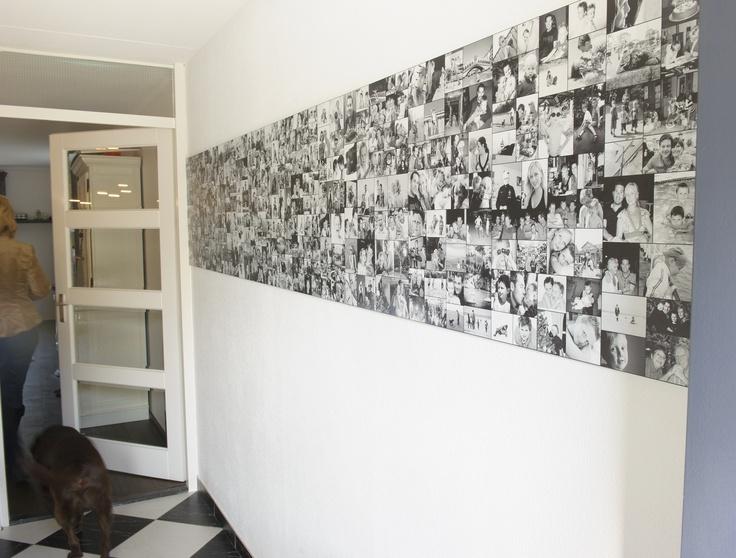 Wall of Favorites,  wandcollage afgedrukt op hoogwaardig kunststof, al je favoriete foto's elke dag om van te genieten....