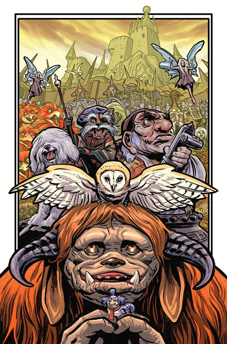 """Images for : EXCLUSIVE: Allred Covers """"Jim Henson's Labyrinth"""" & More in BOOM! Solicits for August 2016   Comic Book Resources"""