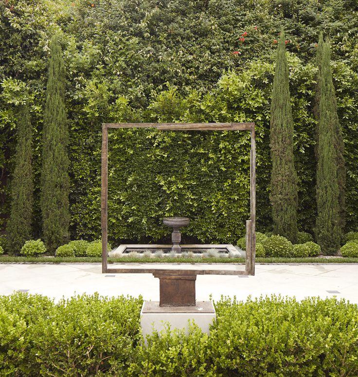 Garden Decor Los Angeles: Daniel C. Cuevas Design / Villa Off-sunset, Los Angeles